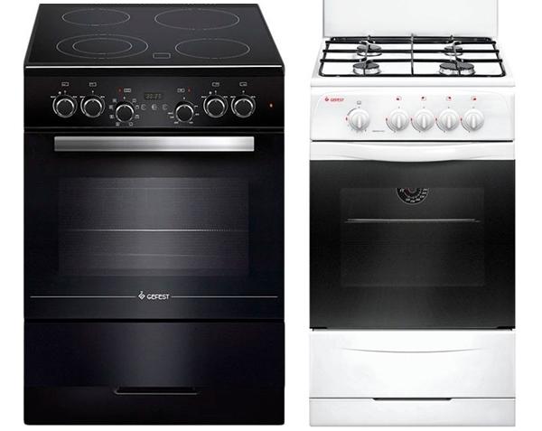 Особенности выбора кухонных плит