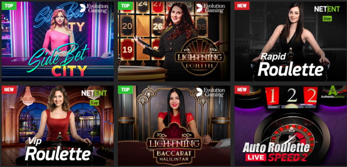 Live казино PM