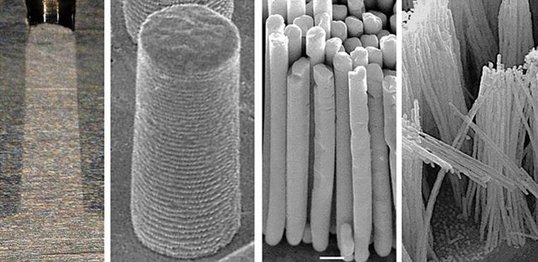 Новый процесс производства позволяет ученым формовать металл в наномасштабе