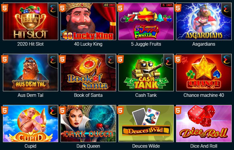 GoxFun игровые автоматы бесплатно